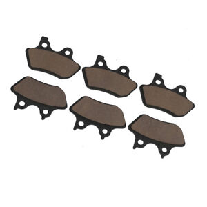 Details about Front & Rear Carbon Brake Pads Fit For Harley Touring  Sportster Dyna Wide Glide