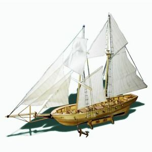 Sailboat-Wooden-Model-Ship-Toy-Harvey-Sailing-Decoration-Assembling-Building-Kit