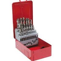 Neilsen Metric Drill Set HSS High Speed 1mm-13mm Index Box 25 Piece High Speed