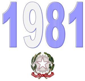 ITALIA-Repubblica-1981-Singolo-Annata-Completa-integri-MNH-Tutte-le-emissioni