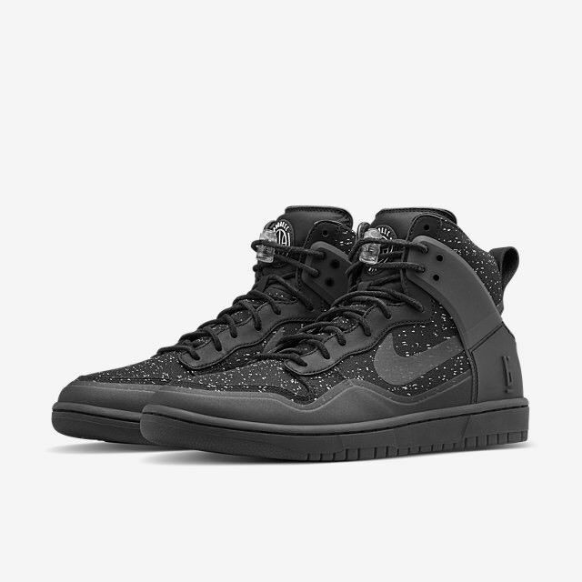 NIKE DUNK LUX SP PIGALLE HIGH Noir HYPERFUSE UK-8/9 BNIB 100% Genuine 806948001