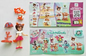 """Enchantimals von Ferrero /"""" Felicity Fox und Flick DV423 /"""" mit BPZ"""