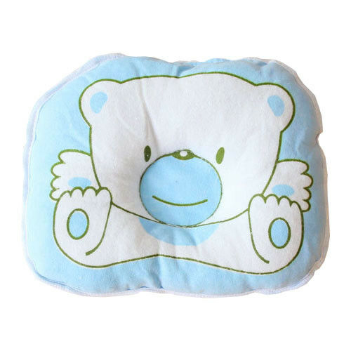 Cotton Bear Baby sleeping Pillow Mat with Concave Center Flat Head Prevention