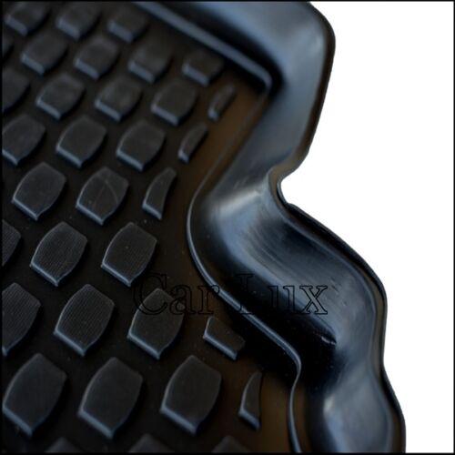 tipo cubeta tapis sol 3D Alfombrillas de goma a medida VW Caddy desde 2004