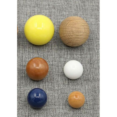 10//20pcs Round Wood Beads Natural Spacer Wooden Ball DIY Bracelet Necklace
