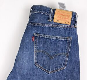 Levi's Strauss & Co Hommes 501 Jeans Jambe Droite Taille W38 L34 BBZ570