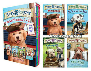 Puppy-Pirates-Adventures-1-4-Stowaway-by-Erin-Soderberg-2016-Box-Set-Paperback
