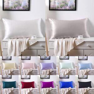 Silk Pillowcase For Hair And Skin With Hidden Zipper Both