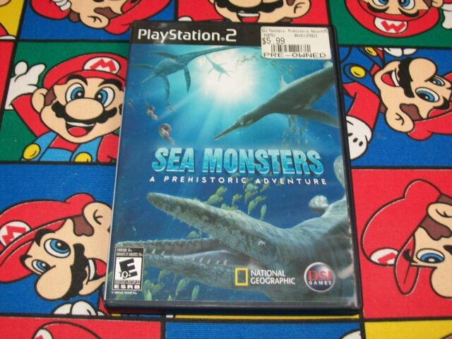 Sea Monsters A Prehistoric Adventure (Sony PlayStation 2) PS2 CIB Complete Game