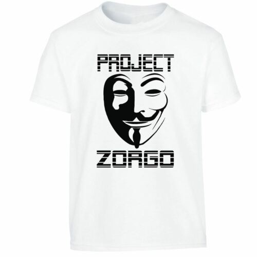 New Gold Project Zorgo Chad Wild Clay CWC Youtuber T Shirt Gaming Kids Tshirt