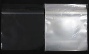 100x-12-034-LP-Sleeves-Sealable-Crystal-Clear-Polypropylene-Vinyl-Record-Covers-NEW