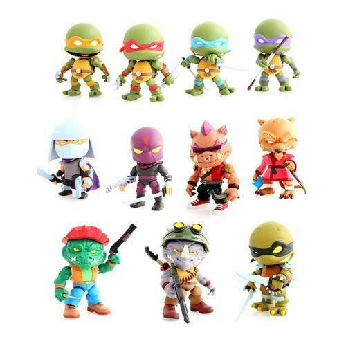 Loyal Subjects Teenage Mutant Ninja Turtles Blind Vinyl Figure NEW Toys