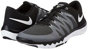 Details about Nike Free Trainer 5.0 V6 Black White Grey 719922 010 Herren Cross Training schuhe