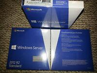 Microsoft Windows Server 2012 R2 Standard,sku P73-05966,64-bit,full Retail,5 Cal