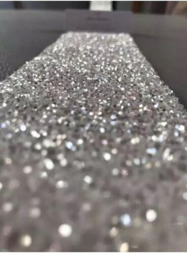 "Self Adhesive Diamond White Glitter Border                  2.75 "" X 1 Metre."