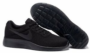 finest selection ef5f8 ef90e ... mens running shoes bcbc0 d0530 order image is loading new nike tanjun  812654 001 all black casual a2767 09a2d ...
