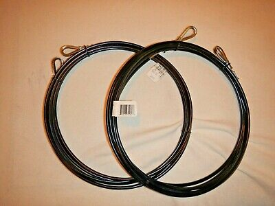 Hobie Cat 17 Trapeze Wires Black Coated Pair New 2 Wires Trap