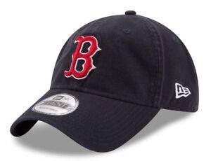 new styles 58052 1ce2a Image is loading New-Era-Boston-Red-Sox-Navy-9TWENTY-Core-