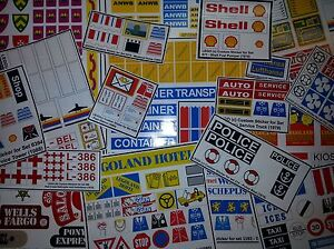 Custom-Lego-Sticker-Stickers-vintage-sets-Legoland-amp-Town-Building