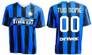 Maglia Calcio Ufficiale Inter Personalizzata con Tuo Nome e
