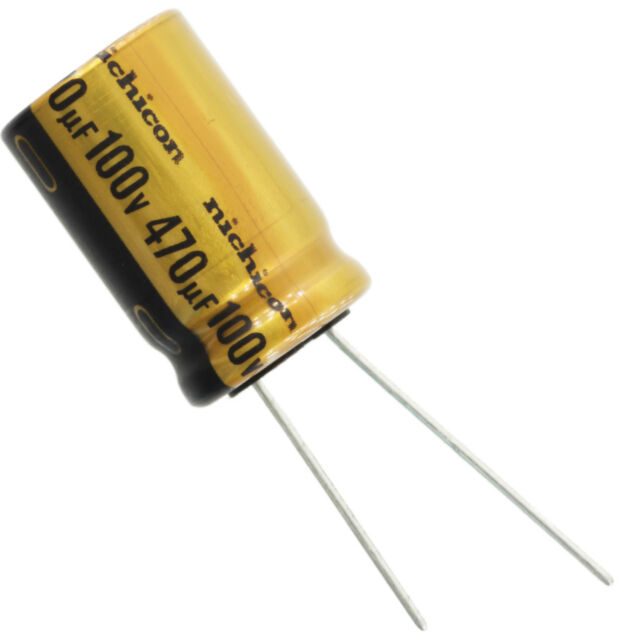 Leaded 100volts 470uF Radial Aluminum Electrolytic Capacitors 20