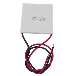 5pcs TEC1-12706 Heatsink Thermoelectric Cooler Cooling Peltier Plate Module