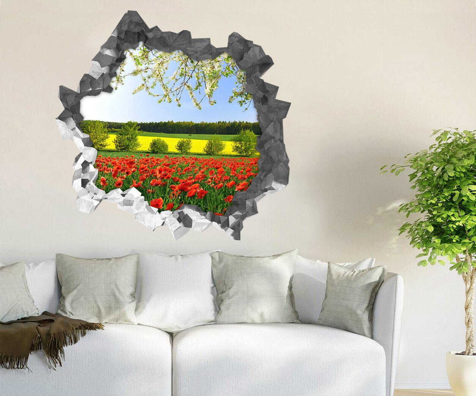 3D Himmel bluemen 57 Mauer Murals Aufklebe Decal Durchbruch AJ WALLPAPER DE Lemon