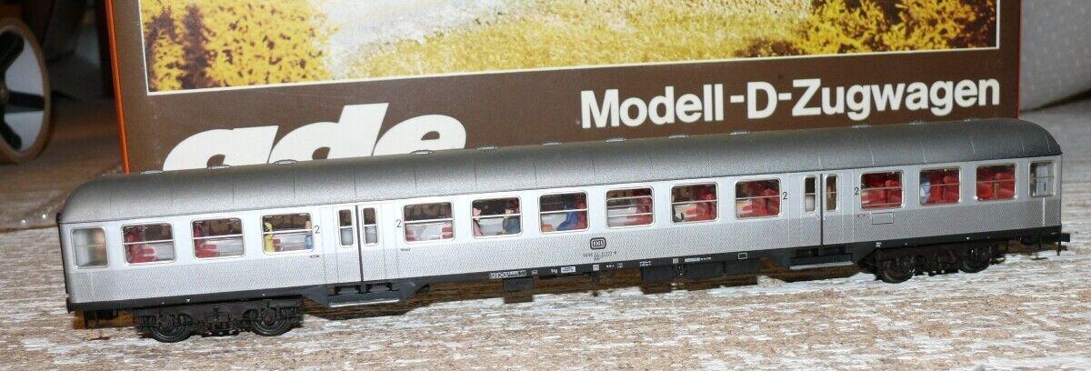 S65 Ade B-3130-728-2 Nahverkehrswagen 2. Kl. DB Silberling mit Figuren  11 777-6  | Hervorragende Eigenschaften