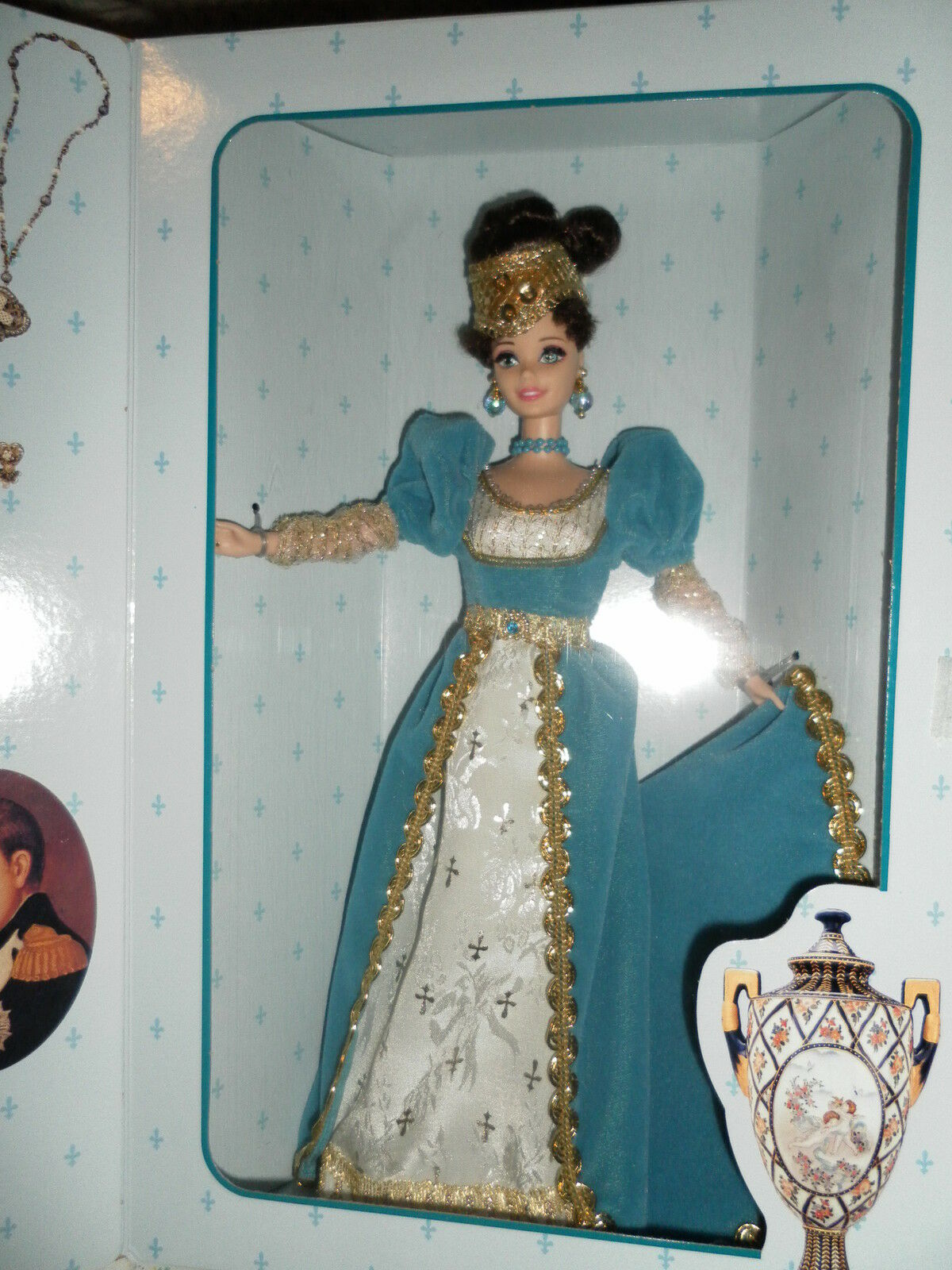 BARBIE   FRENCH LADY 1996 THE GREAT ERAS NRFB GReI ERE  consegna gratuita