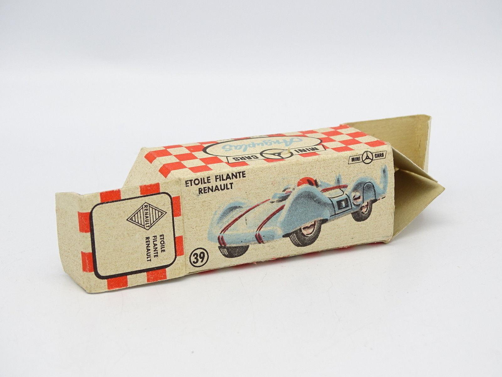 AnguPlas Mini Cars 1 86 - Schachtel leere Etoile Etoile Etoile Filante Renault 395325