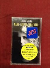 Mary Chaplin Carpenter Come On Come On New Sealed Cassette