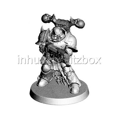 Swo22 chaos space marine f shadowspear ombrelance warhammer 40000 bitz c30à34 32