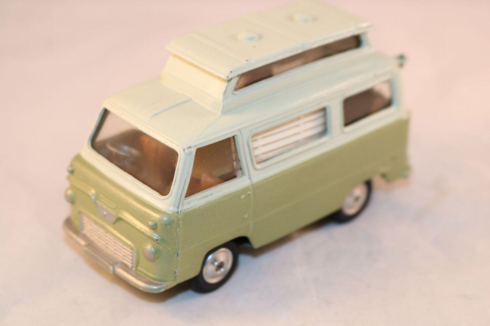 Corgi Toys 420 Ford Thames  Airborne  caravan very very near mint