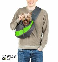Pet Sling Carrier By Panda Pets - Small Dog Cat Sling Pet Carrier Bag