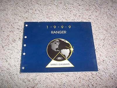 1999 Ford Ranger Electrical Wiring Diagram Manual Regular ...