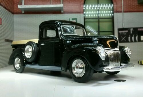 G LGB Scale 1:24 1940 Ford Delivery Truck  Pickup Diecast Model 73254 Black