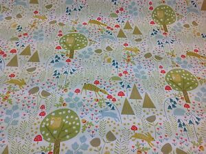 Fryetts Curtain Fabric Woodland Life By The Metre