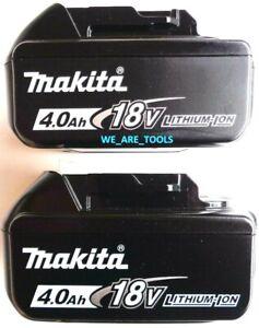 2 NEW Makita BL1840B 18V GENUINE Batteries 4.0 AH Fr Drill,18 Volt BL1840B-2