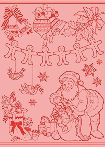 "Jilda-Tex Jacquard Kitchen Towel /""Merry X-Mas/"" Tea Towel"