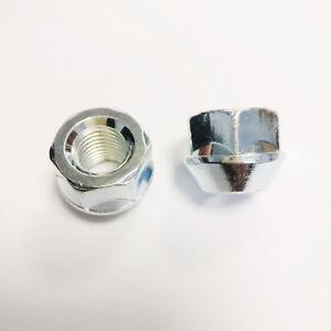 10x-Wheel-Spacer-Short-Head-LUG-NUTS-Thread-M12-x-1-5-x-17mm-KEY-19mm-Brand-NEW