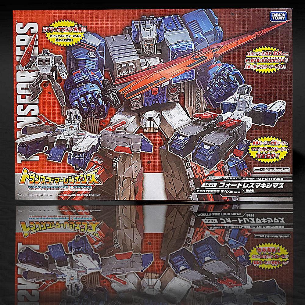 Navidad DHL Transformers leyendas 100% Takara LG-31 Fortress Maximus Nuevo