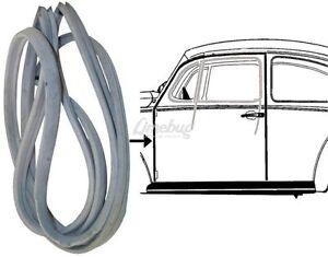 VW-Beetle-sigillo-sportello-sinistro-t1-in-gomma-1968-79-tedesco-di-qualita-presto-Bug-OE-Stile