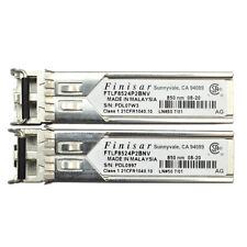 DELL FINISAR GBIC OPTICAL TRANSCEIVER FTLF8524P2BNV 4GB 850NM
