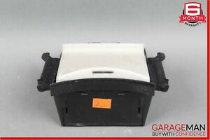 00-06 Mercedes W220 S430 S500 Center Console Storage Tray Compartment Beige OEM