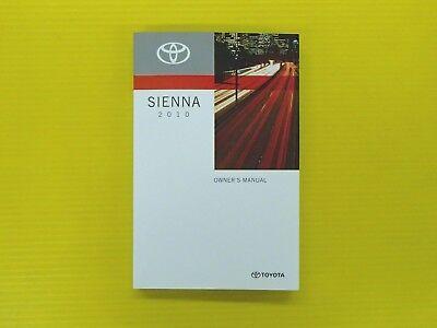 sienna minivan   toyota owners owners manual oem ebay