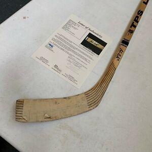 Adam Oates Signed 1992 Game Used Hockey Stick With JSA COA