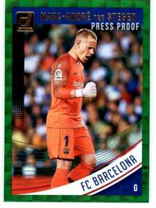 Pick Your Cards 2018-19 Donruss Soccer Press Proof Green Singles
