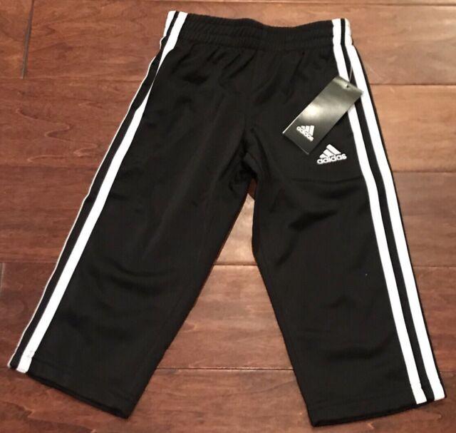 Adidas Boys Tricot Pant Black Toddler Boys 3t Ebay