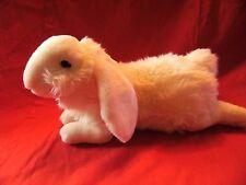 """Kuschelweich Abwaschbar Germany white  Plush Stuffed Soft Toy bunny 16"""""""
