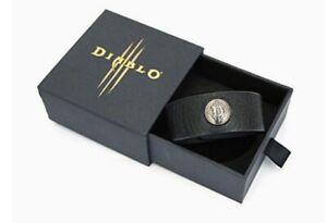 Extremely Rare Blizzard Diablo III bracelet wristband black